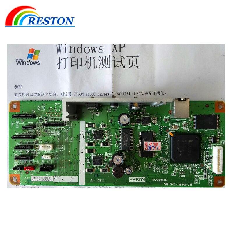 Getestet Logic Mutter Board Für EPSON L1300 Mutter bord ME1100 T1100 T1110 PX1001 1004 mainboard-formatter board PCA ASSY
