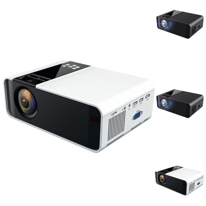 W10 العارض AV فيديو إدخال الصوت USB بطاقة SD ، HDMI ، VGA ، المتكلم ، إخراج سماعة رأس ستيريو ، (النموذج الأساسي)
