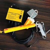 pc02 small electrostatic spraying machine portable spraying equipment manual spraying powder electrostatic spraying machine