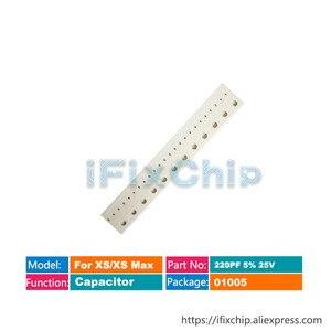 For iphone Xs/Xs max Capacitor C4093 C4094 C4096 C4008 C4010 C4007 C4105 C4121 C4122 C4101 C4102 C4125 C4193 C4205 C4203 C4201