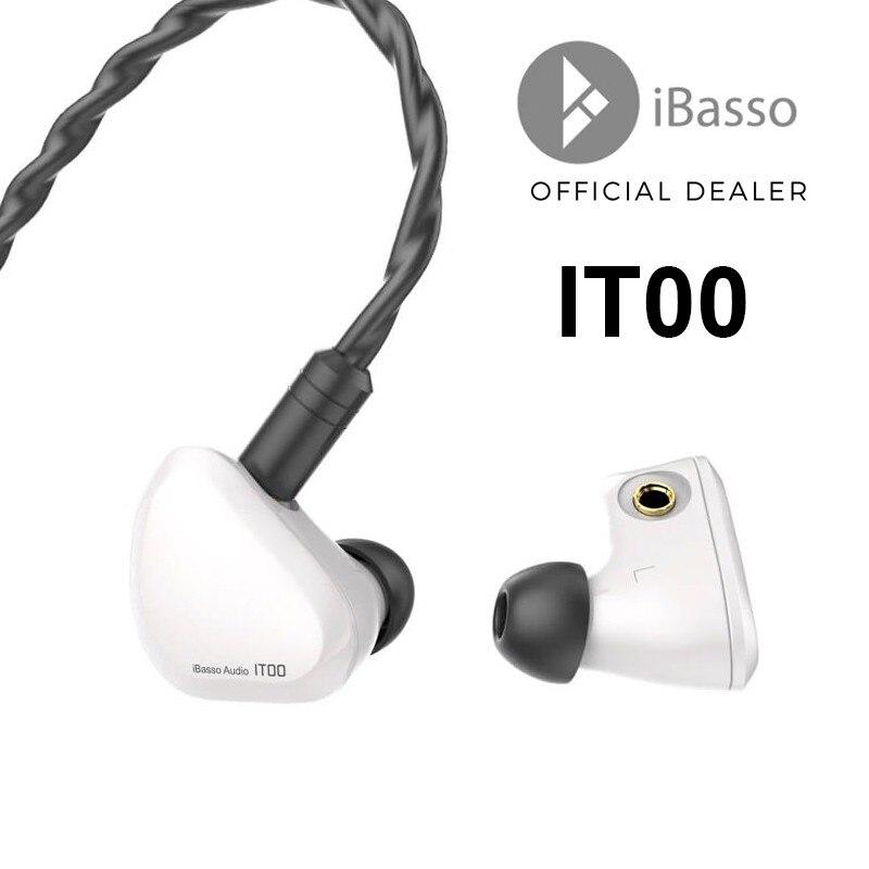 IBasso-سماعة رأس داخل الأذن it01 ، جهاز نقل لفائف الجرافين ، مقبس 3.5 مللي متر