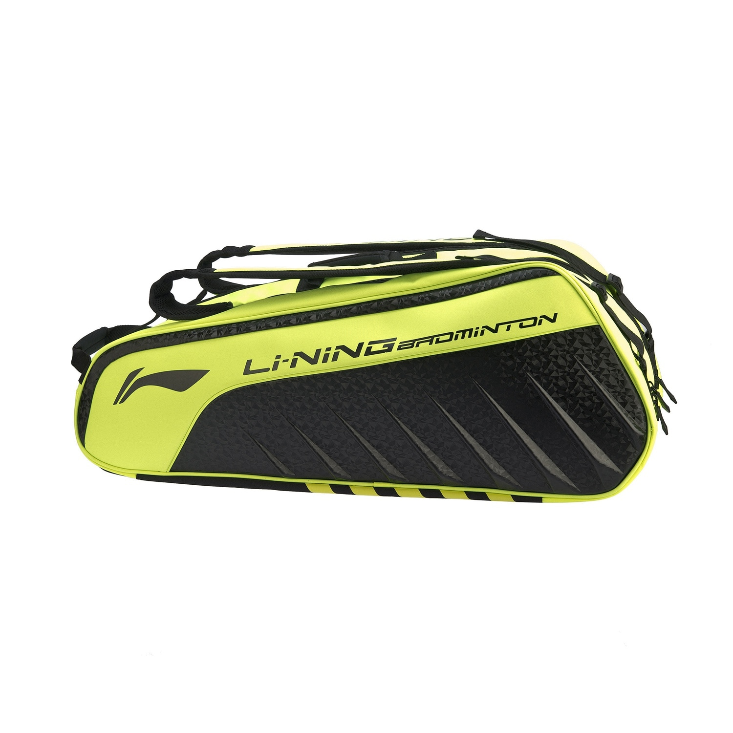 Badminton Series Racket Bag 6-Pack Racket Storage Bag with Shoe Compartments Portable Tote Abjp078