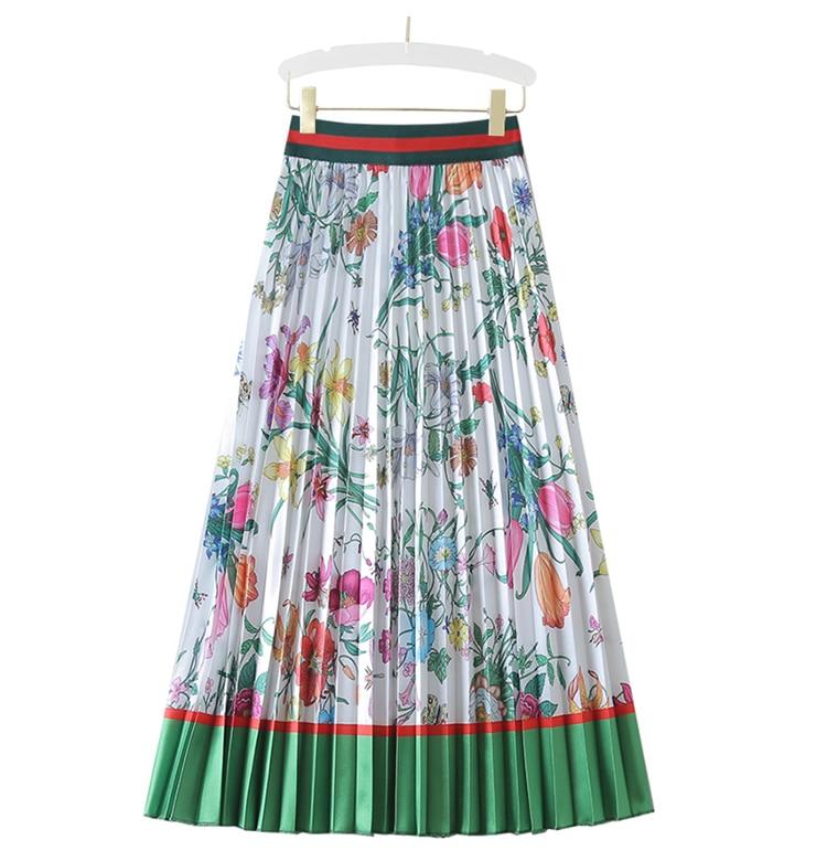 الأكثر مبيعاً ، تنورة ميكي ، ذات تصميم أوروبي وأمريكي ، تنورة ذات ثنيات ، تنانير خصر متوفرة في المخزن
