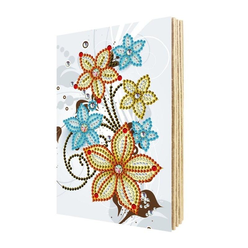 Diy pintura diamante álbum de fotos diamante bordado mosaico cartões de natal cartões de aniversário presente de natal lembrança bookn