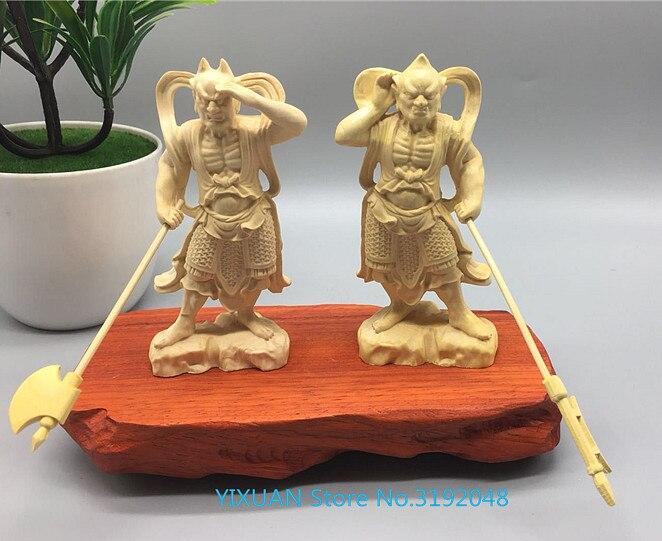 Cuadro de madera tallada en madera maciza Qianli ojo Shunfenger General Mazu...