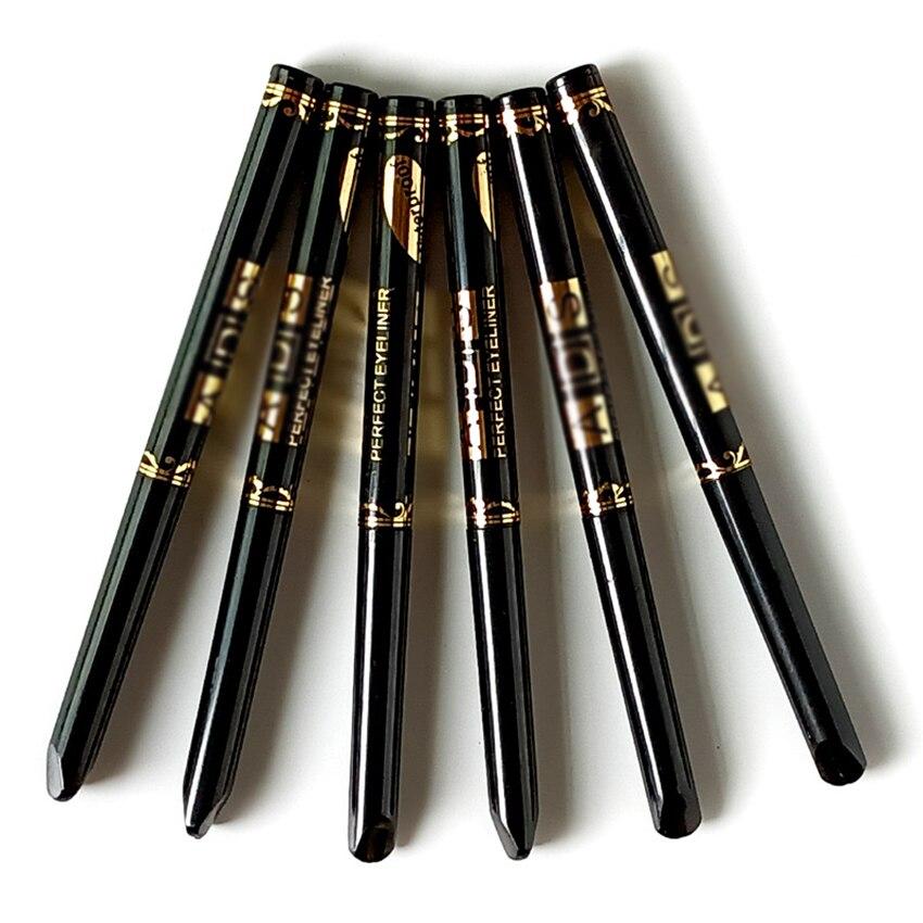 Фото - Черная Подводка для глаз, водостойкая, долговечная, карандаш для глаз, карандаш для бровей, карандаш для макияжа глаз для женщин nyx карандаш для глаз