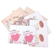cartoon lovely cats animals new travel accessories passport holder pu leather travel passport cover case card id holders