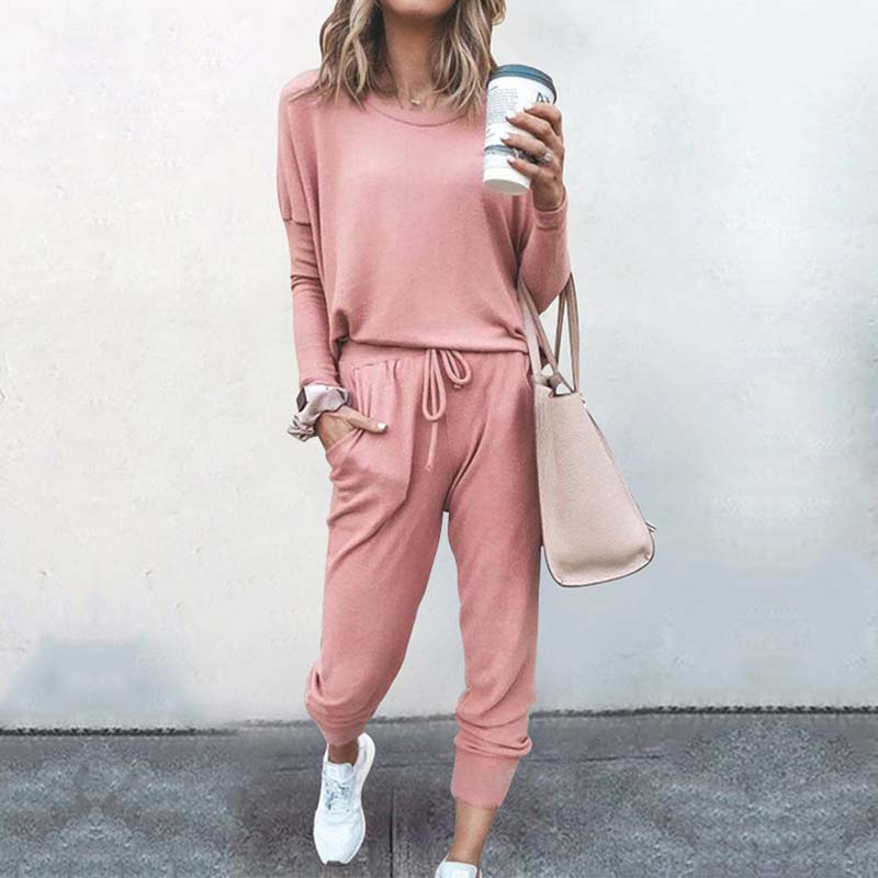 2021 Autumn Pajama Set Women Sleepwear Lounge Wear Set Female Loungewear Nightwear Ladies Homewear W