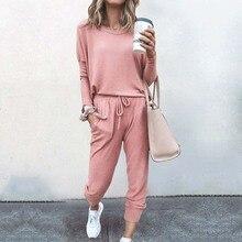 2021 Autumn Pajama Set Women Sleepwear Lounge Wear Set Female Loungewear Nightwear Ladies Homewear W