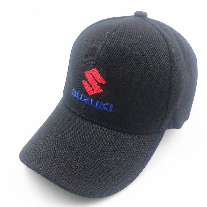 Унисекс хлопковая бейсболка с логотипом автомобиля для Suzuki grand vitara suzuki sx4 swift аксессуары для стайлинга автомобилей