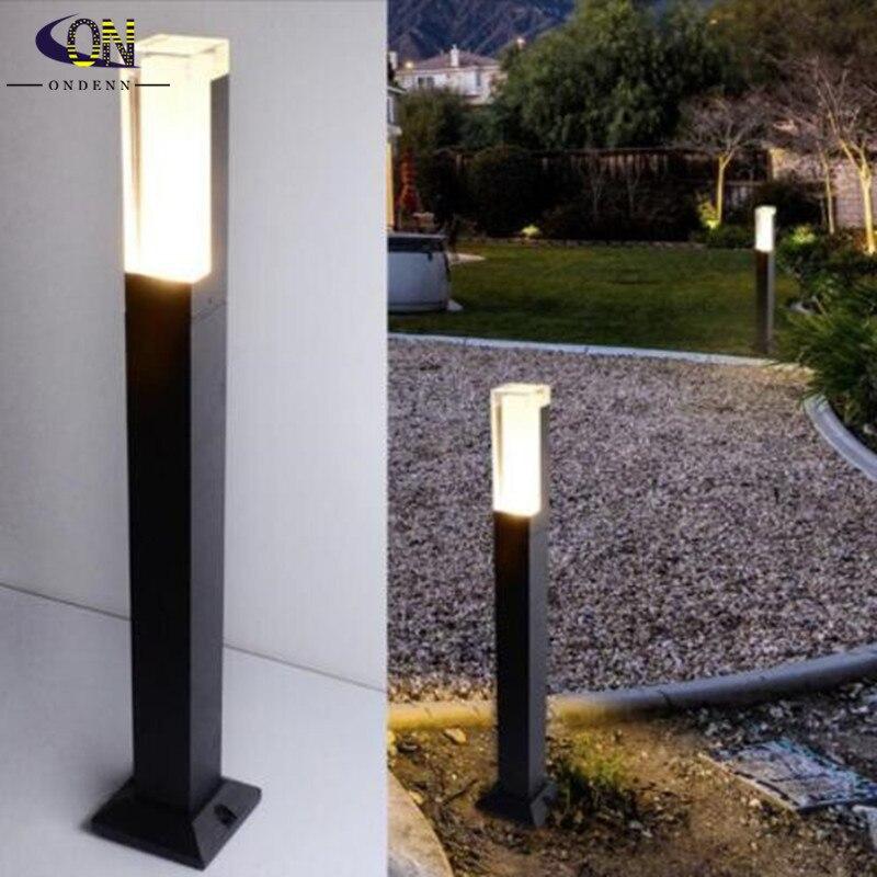 مصباح حديقة LED مقاوم للماء ، مصباح خارجي 10 وات 85-265 فولت تيار مستمر 12 فولت ، إضاءة خارجية ، مصباح حديقة ، حاجز زخرفي للفيلا ، مسار الكريسماس ، 1 ق...
