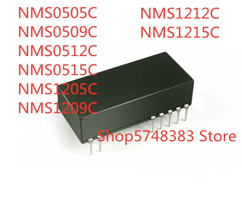 10 قطعة NMS0505C NMS0509C NMS0512C NMS0515C NMS1205C NMS1209C NMS1212C NMS1215C DIP