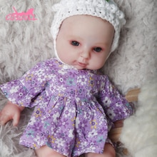 Reborn Doll Baby Toy 31CM Silicone Whole Body Toddler Newborn Doll Girl Birthday Christmas Gift Chil