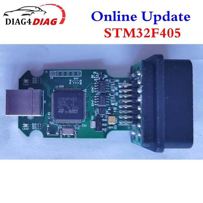 Real V2 STM32F405VGT6 Online Update V20.4.2 With Loader Support Multi-Language STM32F405 More Stable Than STM 415