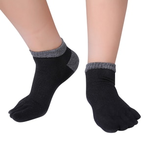 Toe Socks Lady Finger-separated Odor Resistant Cotton Polyester Spandex Ankle Hosiery Sport  Adults Five Toe Socks New Top