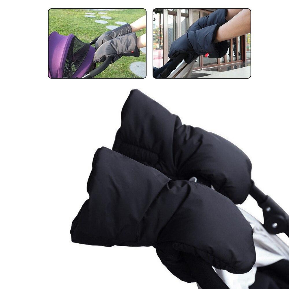 Guantes cálidos para cochecito de invierno para niños, guantes de abrigo, silla de mano, Muff, accesorio impermeable, guantes de mano