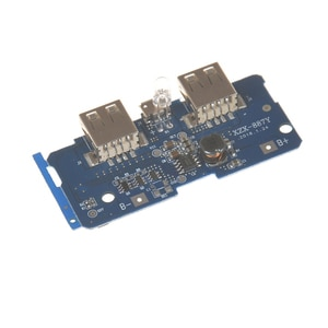 2A Dual USB Output 1A Input 5V 2A Power Bank Charger Module Charging Circuit Board Step Up Boost Power Supply