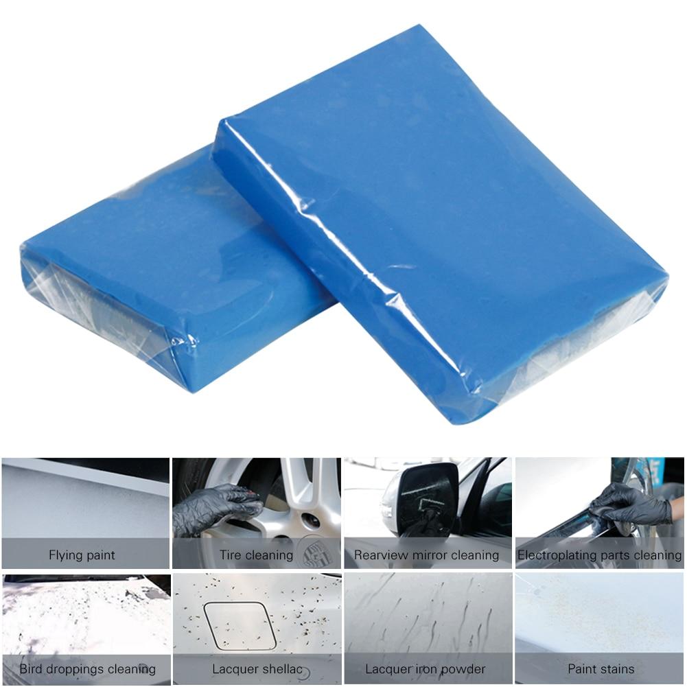Car Clay Bar Vehicle Washing Cleaning Tools Blue 100g Auto Detailing Cleaner Cleaning Tools Auto Care Detailing