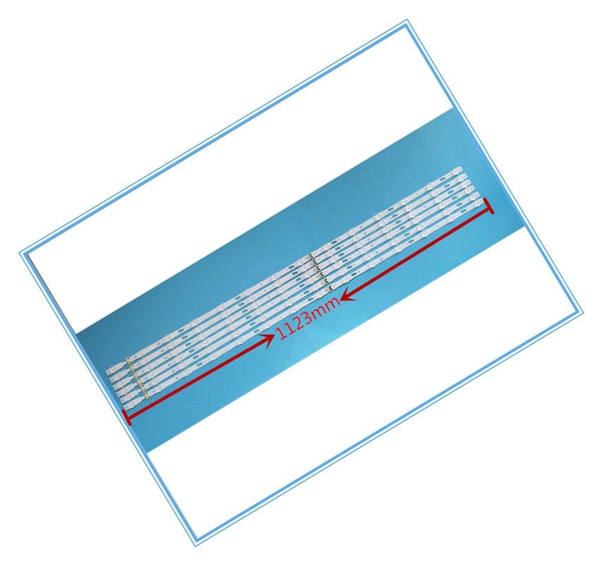 CONDUZIU una luz bar UA55MU6990JXXZ UA55JU5920 retroiluminación S-5U75-55-FL-R6/L8-REV1.5 LM41-00135A LM41-00136A tiras