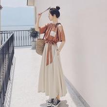 Spot Goods Featured Products Data Patchwork Cold-Shoulder Dress Women's Summer