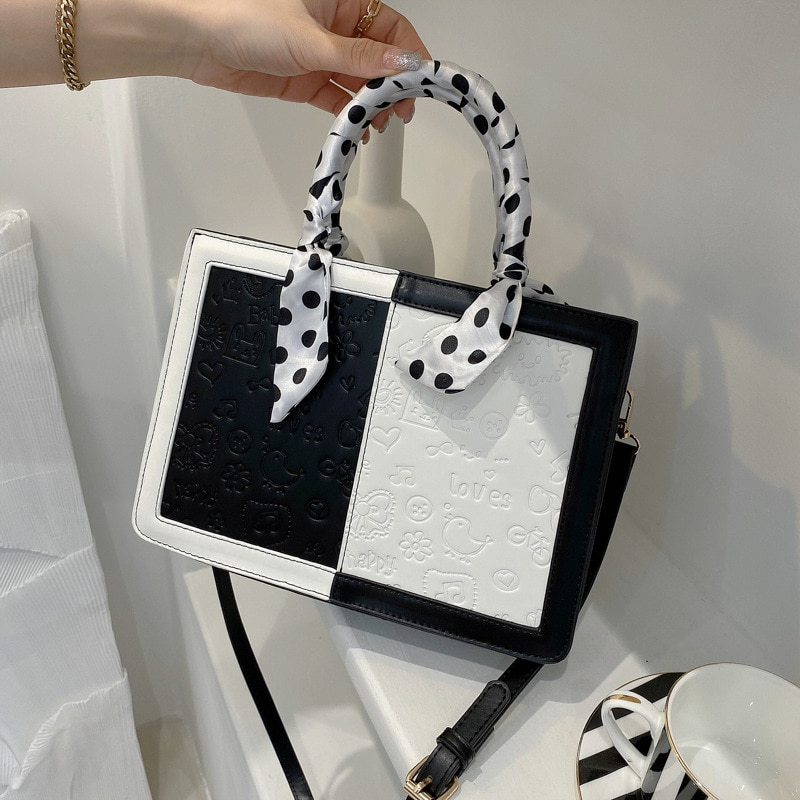 Fashion Solid Color Leather Handbag Flap Female Crossbody Bag Party Chic Clutch Youth Ladies Simple