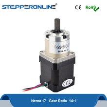 Nema 17 Stepper Motor 42 Motor Extruder Gear Stepper Motor Ratio 14:1 Planetary Gearbox L=48mm 4-lead Nema17 Stepping Motor