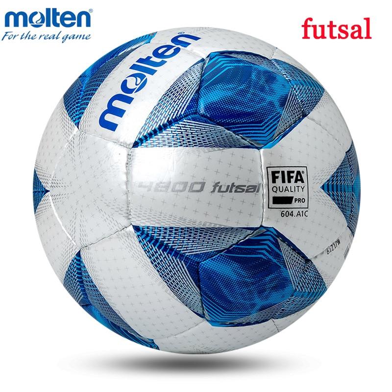 futsal ball Quality Training Molten Sports Ball futbol F9A4800 futsal High Balls futebol Elasticity Indoor Soccer Newest Low