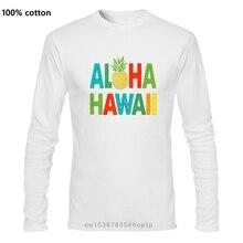 Hommes drôle t-shirt mode t-shirt Aloha Hawaii ananas Version femmes t-shirt