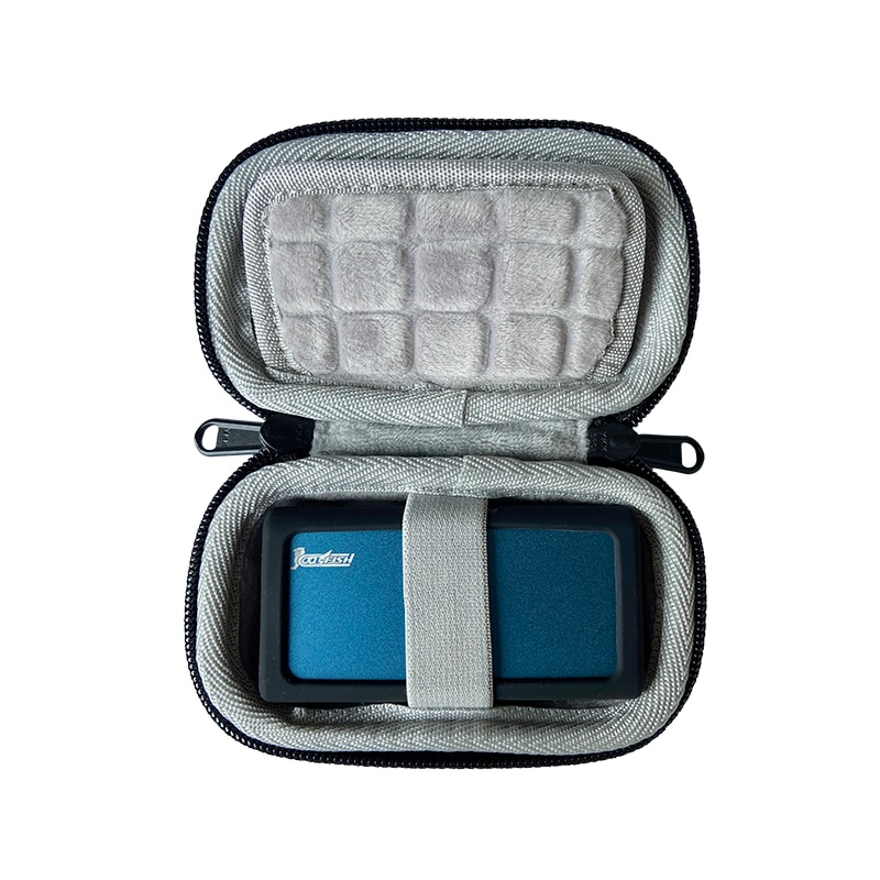 New Portable Travel Cover for Coolfish M2 Solid Mobile Hard Drive M2 Storage Hard Shell Bag Case