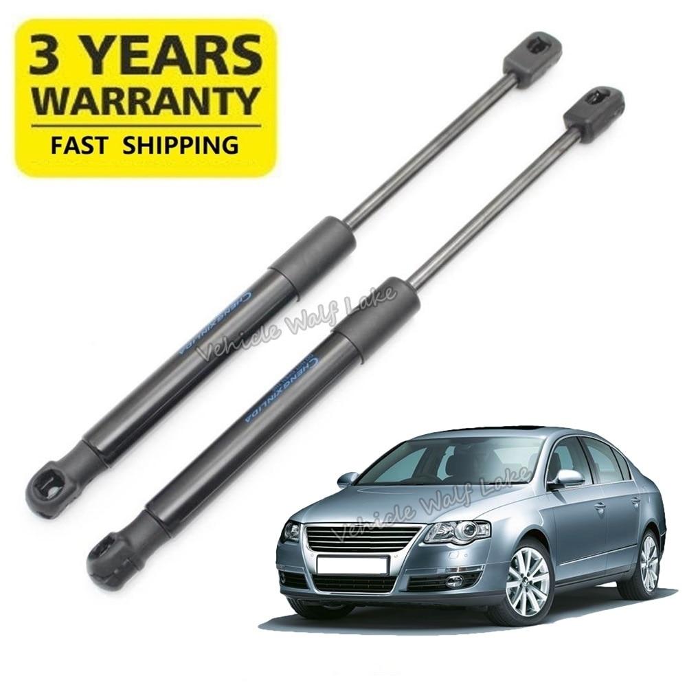 2 pces para vw passat b6 3c sedan 2006 2007 2008 2009 2010 2011 carro-estilo bota strut bagageira suporte mola de gás livre também