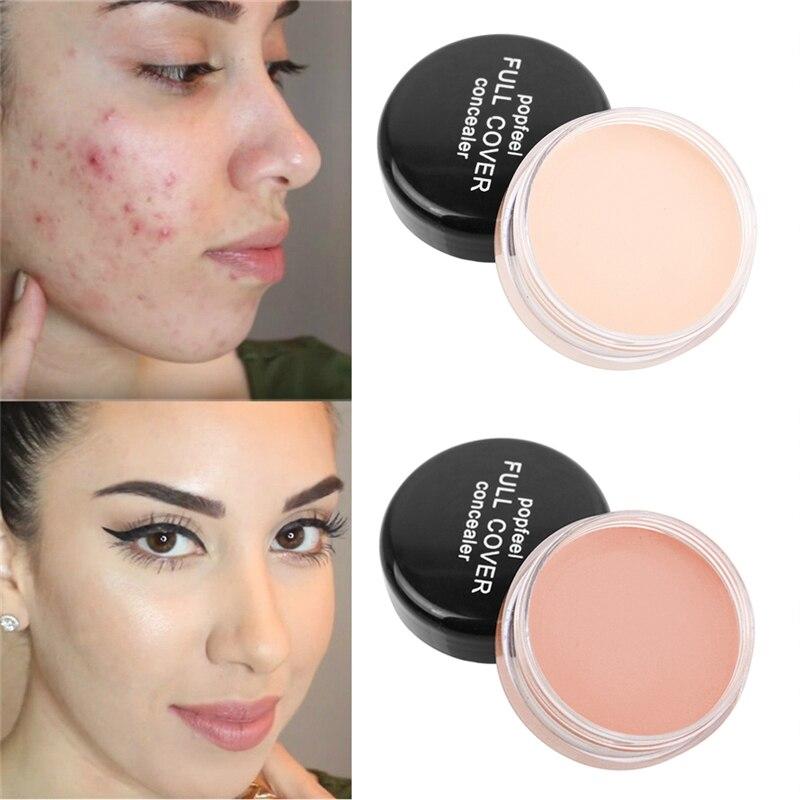 Rosto maquiagem corretivo creme cobertura completa cicatrizes acne capa suave olho lábio contorno correção de cor líquido corretivo fundação