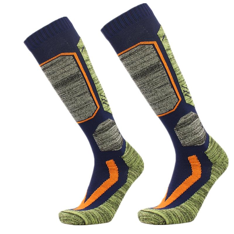High Quality Cotton Thick Cushion Knee High Ski Socks Winter Sports Snowboarding Skiing Socks Warm Thermal socks