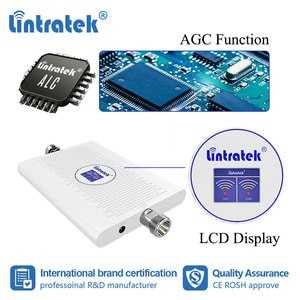 Image 3 - Lintratek 70dB 2G 3G 850 1900 ретранслятор GSM UMTS 1900mhz усилитель сотового сигнала CDMA B2 B5 3G Усилитель антенна yagi комплект dj