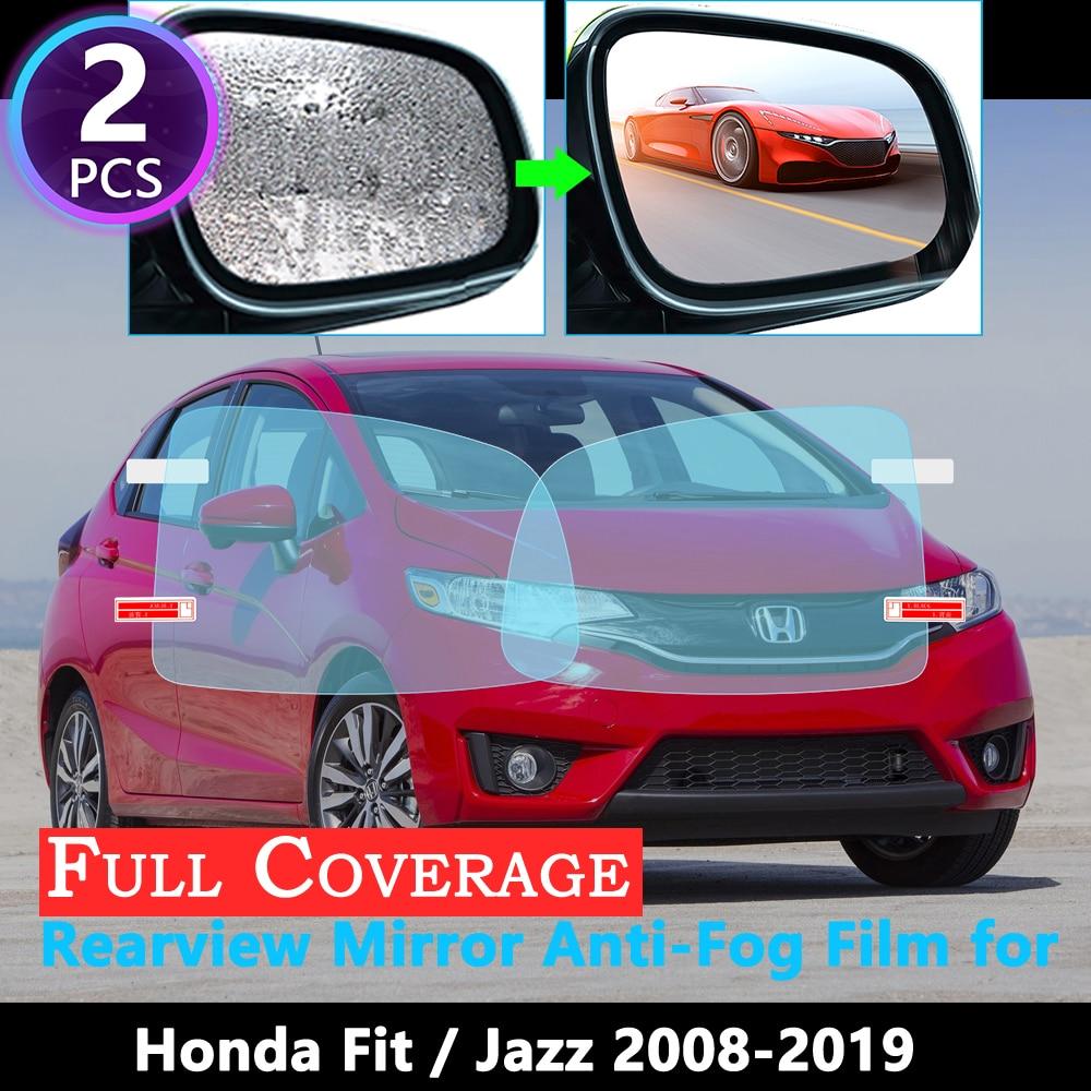 Cubierta completa película Anti niebla para Honda ajuste Jazz Shuttle 2008 Special 2019 espejo retrovisor especial impermeable Anti-niebla GE6 gege9 Gk5 2018