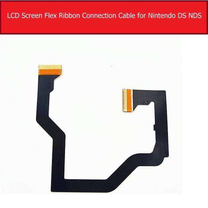 100% Original Genuine LCD Display Flex Cable For Nintendo DS NDS LCD Screen Connect Flex Ribbon Cable Replacement Repair Parts