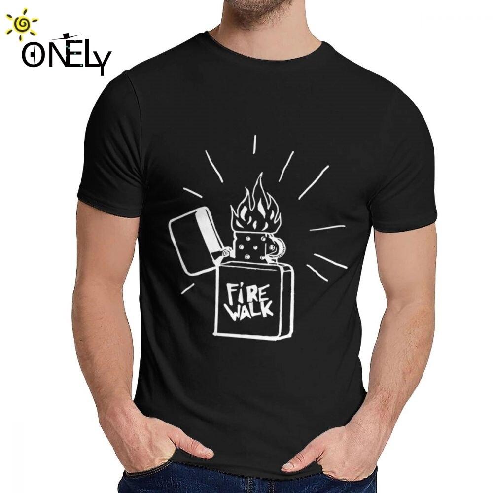 Camiseta de chico Firewalk Lighter Life Is Strange 100% de algodón diseño superior clásico cuello redondo estampado de dibujos animados de manga corta