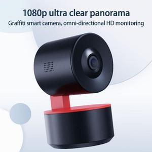 Tuya Smart 360-degree panoramic monitoring hotel home wireless WiFi mobile phone high-definition remote monitoring camera