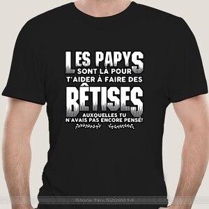 2021 t-shirt Les Papys Sont La Pour T aider A Faire Des Betises Auxquelles Tu N avais Pas Encore Pense