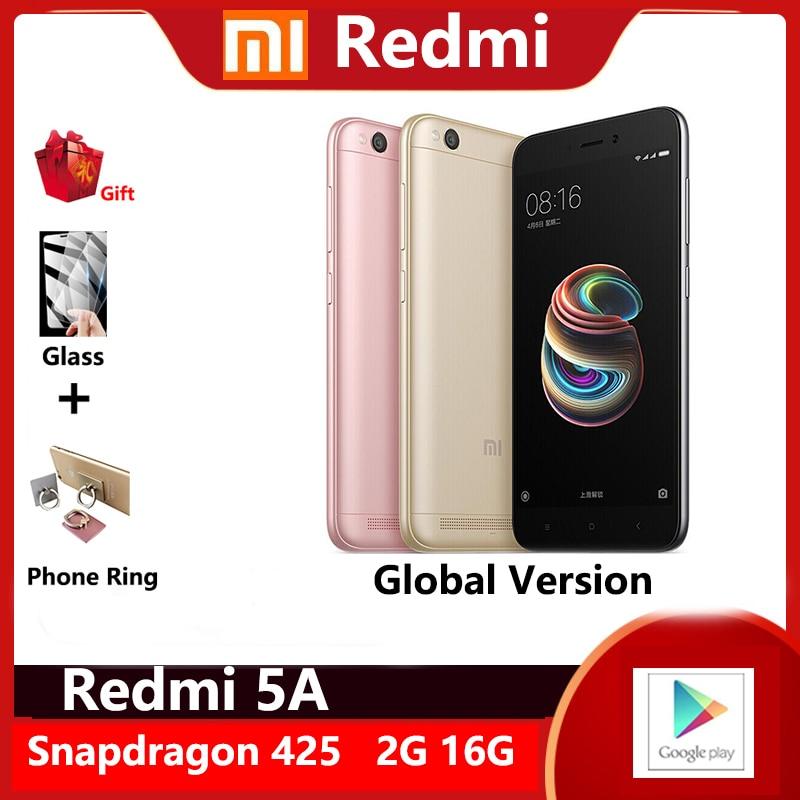 Redmi 5A 2GB 16GB Smartphone 5''inches screen 3000mah battery dragon 425 processor 13m pixel camera