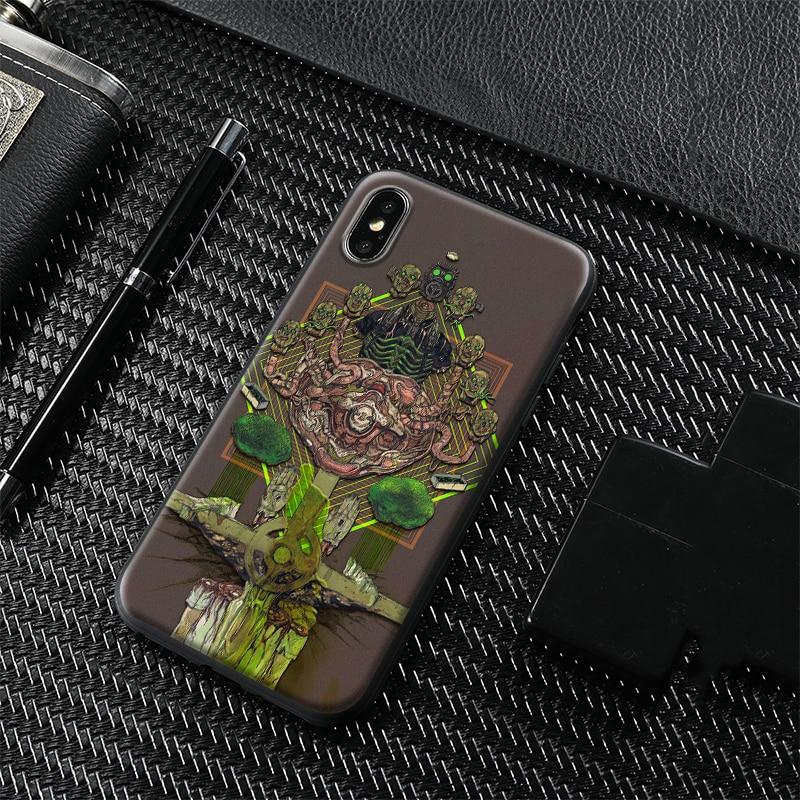 Dorohedoro anime cartaz manga temperado vidro macio silicone caso do telefone para o iphone se 6s 7 8 plus x xr xs 11 pro max capa escudo