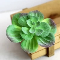 1pc variety artifical plastic succulent plant office creative furnishing craft ornaments floral decor gift