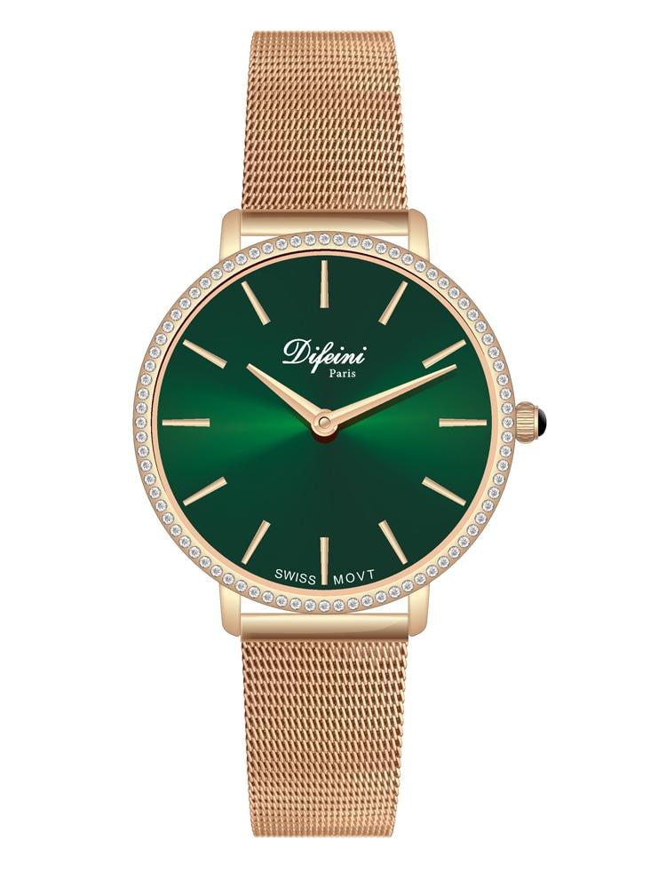 Defini Women's Watch Swiss Movement Sapphire Quartz Watch Watch Women's Watch Women's Watch Waterproof Casual Fashion enlarge