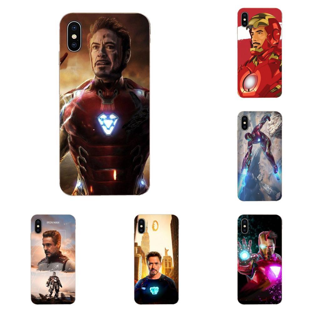 For LG G2 G3 G4 G5 G6 G7 K4 K7 K8 K10 K12 K40 Mini Plus Stylus ThinQ 2016 2017 2018 Ultra Thin Tony Stark Marvel Iron Man