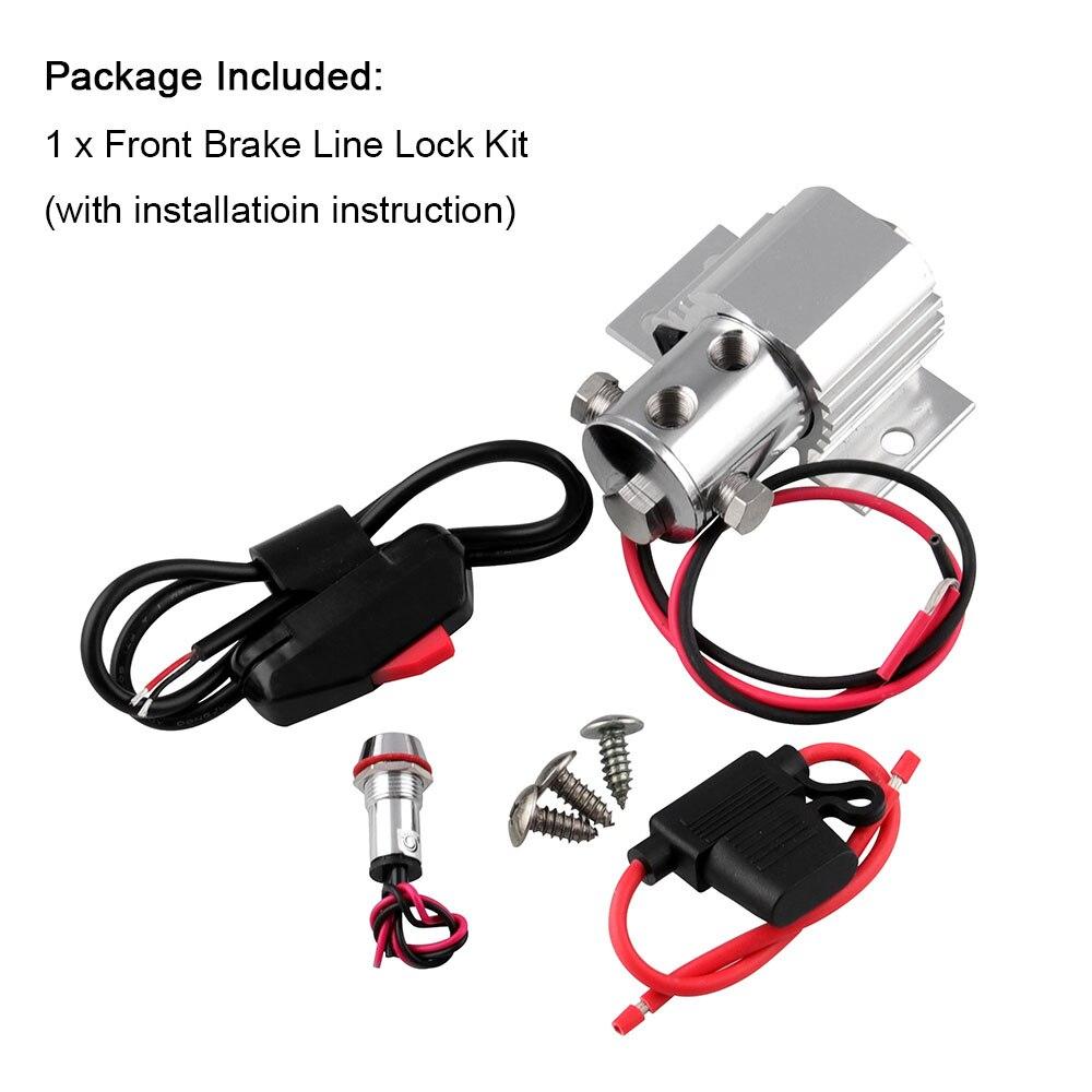 Kit de verrouillage de ligne automatique   Frein avant, Valve de commande de Type robuste, kit de support de ligne adapté à Ford Mustang