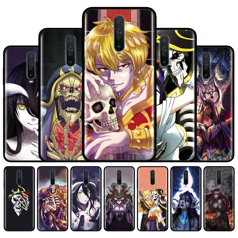 Anime OVERLORD Albedo para Xiaomi Redmi Nota 9S 9 Pro Max 7 8 8T Redmi 9 8 8A 7 7A 6 6A 10X Pro 5G cubierta suave de silicona Couqe