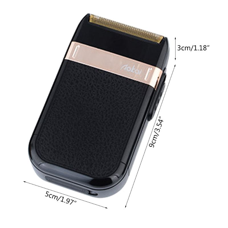 1PCS Mini Portable Electric Shavers For Men Rechargeable Razor Shaving Machine Beard Trimmer Shaver USB Charging Barbeador enlarge