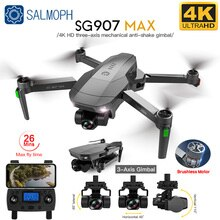 SG907 MAX Drone 4k Profesional Dron with Camera 3-Axis Gimbal Brushless 5G Wif GPS Optical Flow RC Q