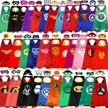 Manufacturers supply children's cartoon hero cloak custom wholesale new double Halloween superman cloak