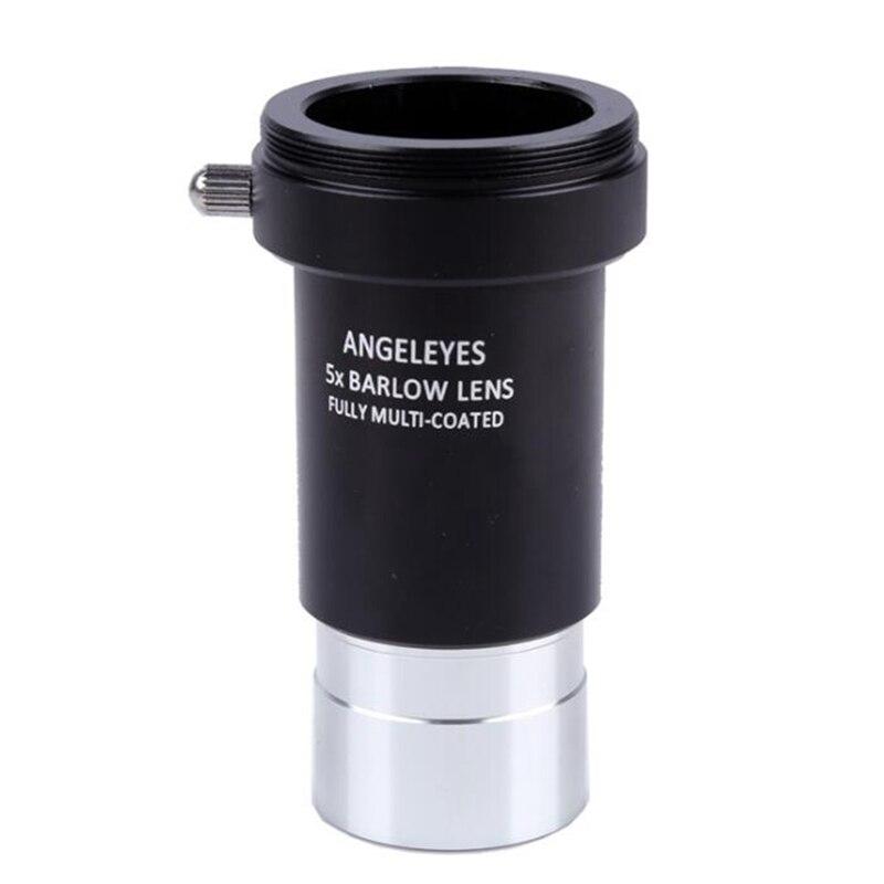 Angeleyes 5x barlow lente barlow 1.25 polegadas 31.7mm telescópio astronômico monocular lente ocular rosca m42