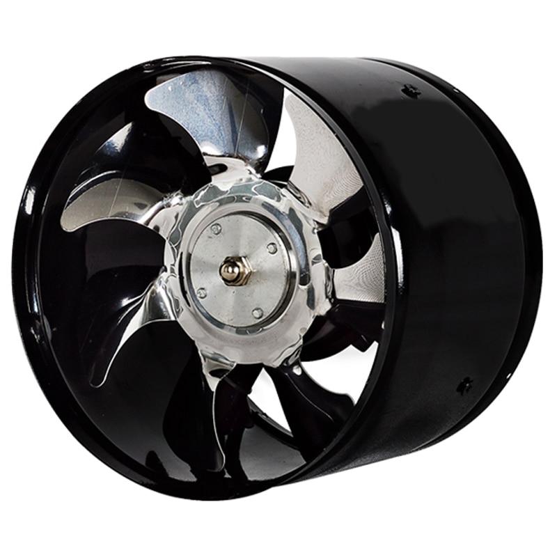 6 polegada de alta velocidade exaustão ventilador em linha duto cozinha extrator metal ventilador de banheiro industrial 220v